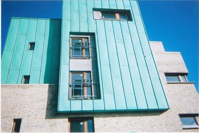 Copper Cladding